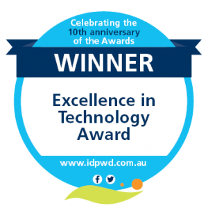 Winner - Excellence in Technology Award