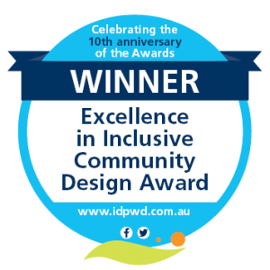 Winner - Excellence in Inclusive Community Design Award