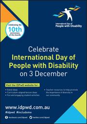 IDPwD Schools Poster