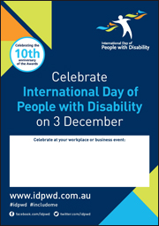 IDPwD Workplace Fillable Poster