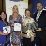 employer of the year award winner brisbane city council and assistant minister prentice