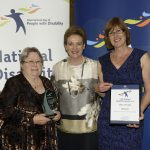 excellence in inclusive community design award shire of collie and assistant minister prentice