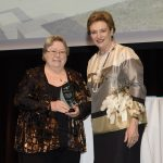 excellence in inclusive community design award winner shire of collie and assistant minister prentice