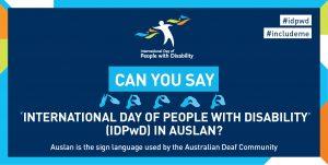 IDPwD Auslan social media banner 1