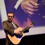 lorin nicholson performing at 10th national disability awards