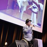 Tony Doevendans performs 'Yes I can' at the 10th National Disability Awards