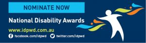 Promotional email signature for the 2017 National Disability Awards
