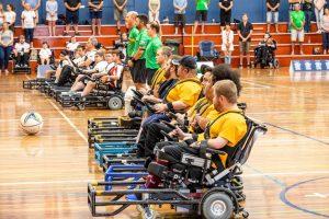 Powerchair participants. Photo credit: Michelle Coles.