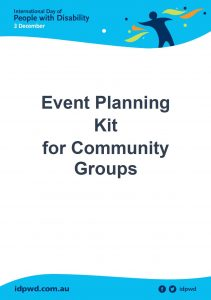 Event planning kit for community groups cover