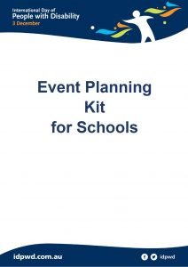 Schools event planning kit cover